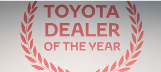 2017 Toyota Parts Dealer of the Year